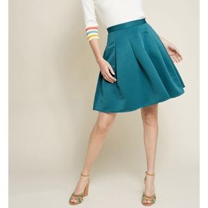 NWOT💙ModCloth Ethereal Expression Pleated Skirt